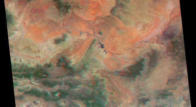 America's National Parks Viewed in 3D by NASA's MISR (Anaglyph 1)