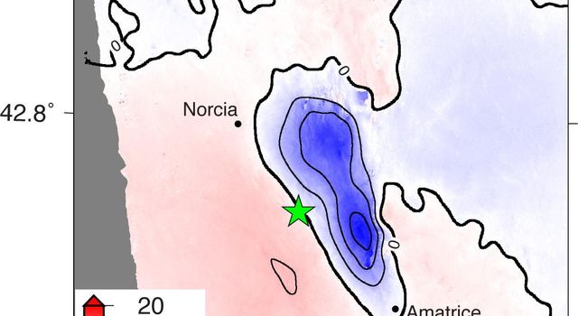 Radar Shows Italy Area Moved 8 Inches by Amatrice Earthquake