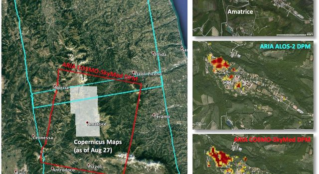 New Satellite Damage Maps Assist Italy's Earthquake Disaster Response