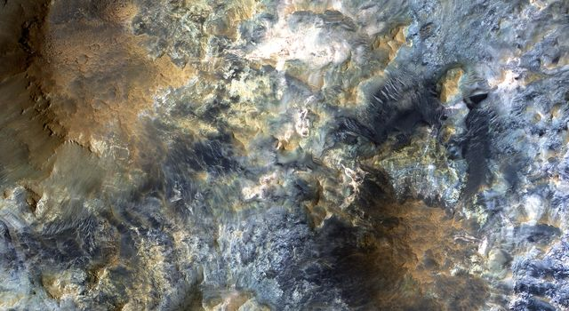 The Color Wonderland of Mawrth Vallis