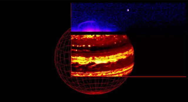Risultati immagini per Jupiter infrared light