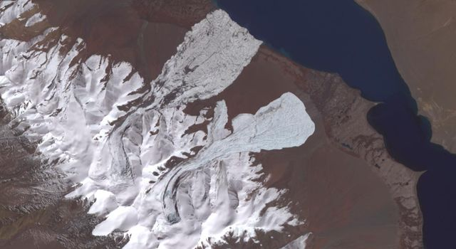 NASA Satellite Eyes Deadly Tibetan Landslide