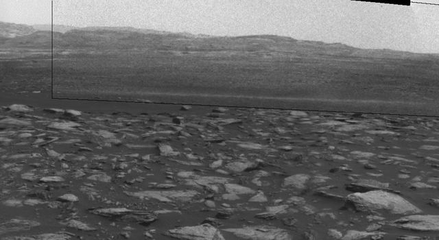 Martian Dust Devil Action in Gale Crater, Sol 1597