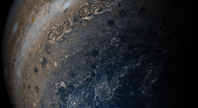 Jupiter's Clouds of Many Colors