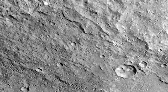 Yalode Crater on Ceres