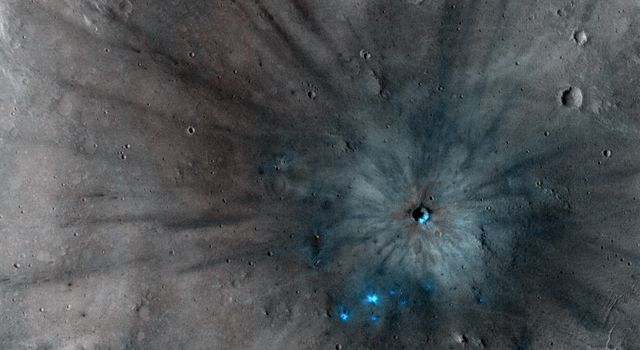 Unlocking an Impact Crater