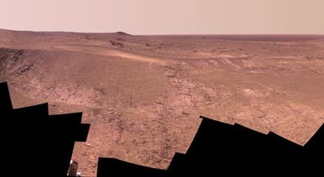 Mars Rover Opportunity's Panorama of 'Rocheport'