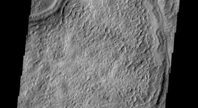 NASA's 2001 Mars Odyssey spacecraft spies what looks like a wishbone.