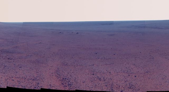 Panorama Above 'Perseverance Valley' (Enhanced Color)