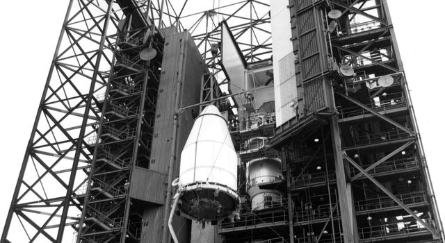 Voyager 2 Preparing for Launch