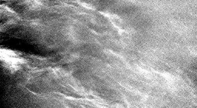 Clouds Sailing Overhead on Mars, Enhanced