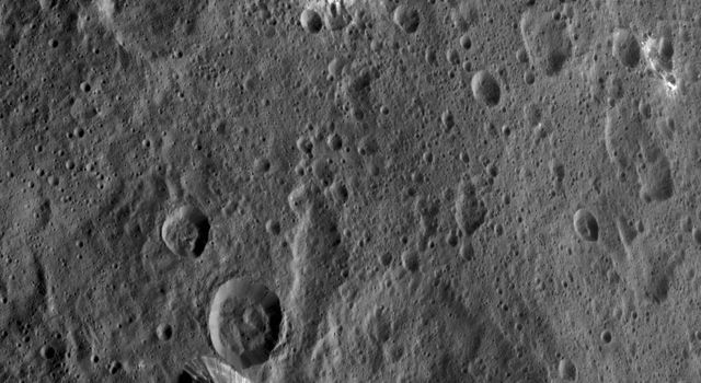 Xevioso Crater on Ceres