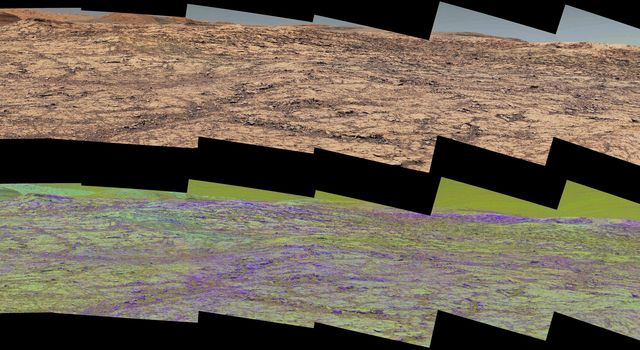Mastcam Special Filters Help Locate Variations Ahead