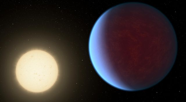 55 Cancri e with Atmosphere (Artist's Concept)