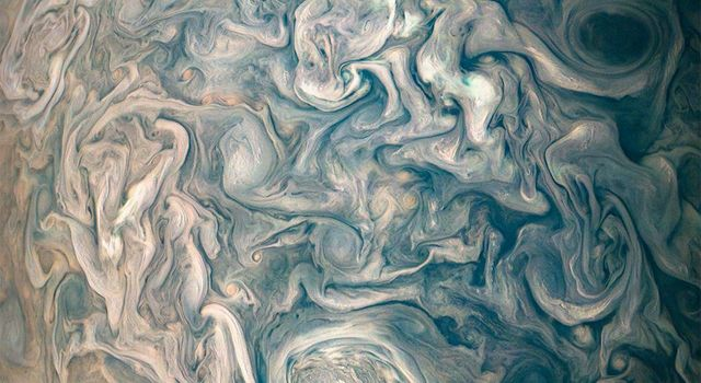 Chaotic Clouds of Jupiter