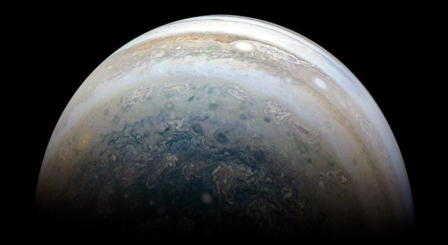 Outbound View of Jupiter