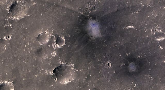 A Pair of New Impact Craters