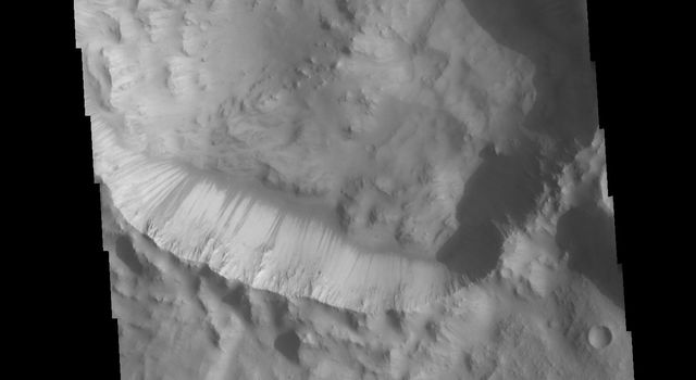 Crater Dark Slope Streaks