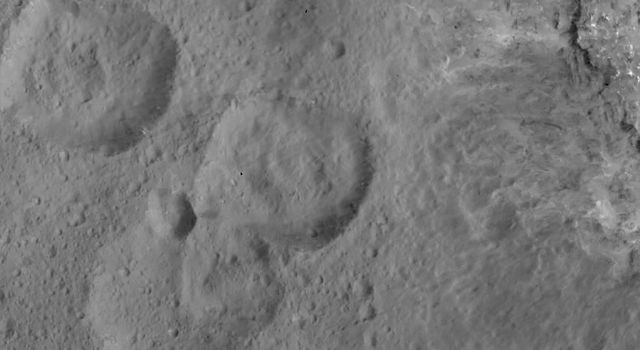 West of Haulani Crater
