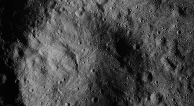 Small Crater North of Datan Crater