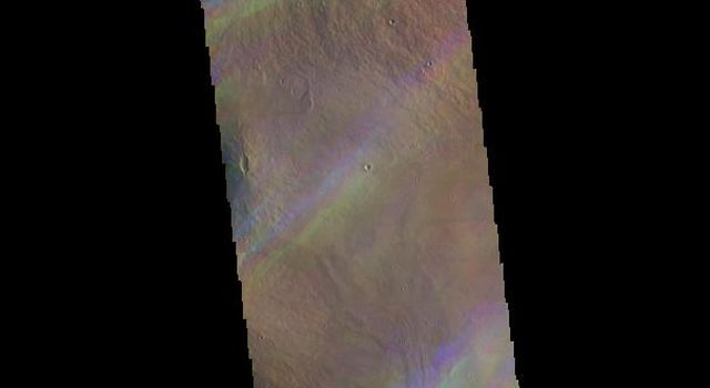 Ice Rich Clouds - False Color