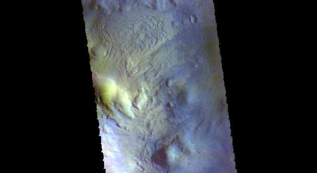 Moreux Crater - False Color