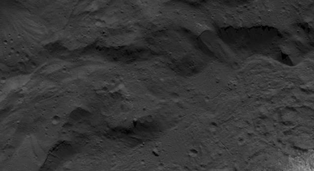 Base of Occator Crater