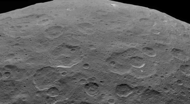 Last Look: Ahuna Mons on Ceres