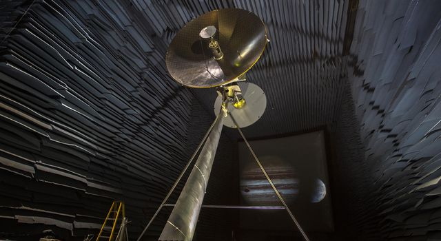 Europa Clipper Antenna Prototype