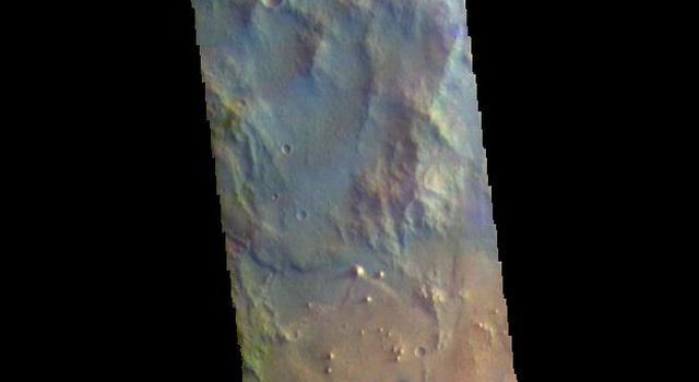 Crater Mounds - False Color