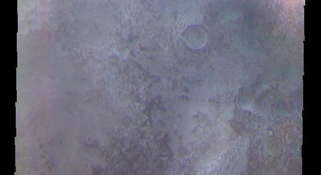 Northern Craters - False Color