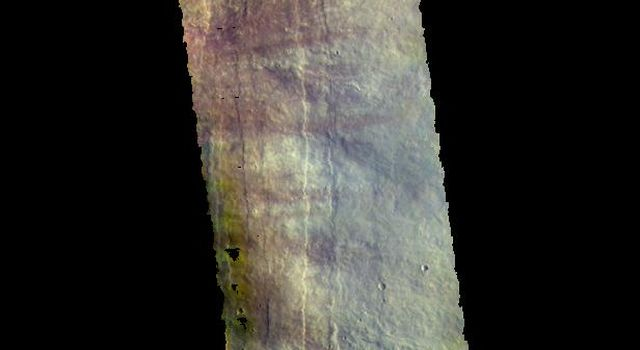 Pavonis Mons - False Color