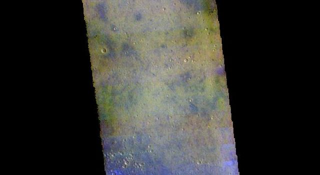 Arcadia Planitia - False Color