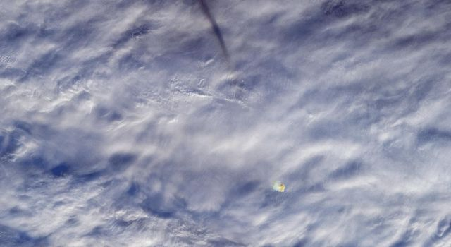 MISR Images Fireball Over Bering Sea