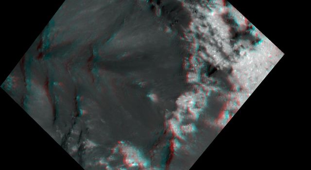 Bright and Dark Pattern on Occator Crater