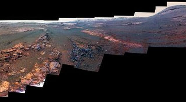 Opportunity Legacy Pan (False Color)