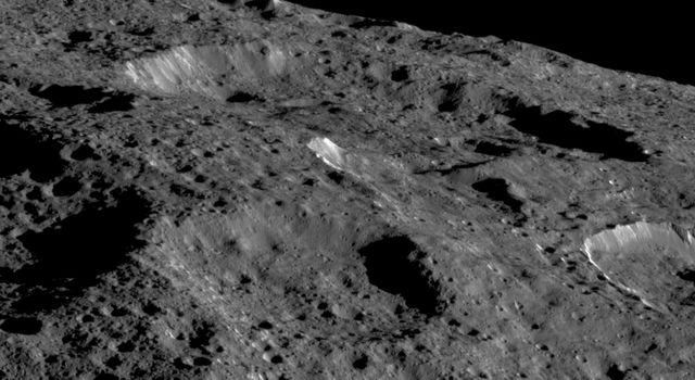 NASAs Dawn spacecraft captured this view of Ceres limb on May 19, 2018.