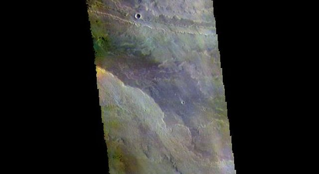 Volcanic Plains - False Color