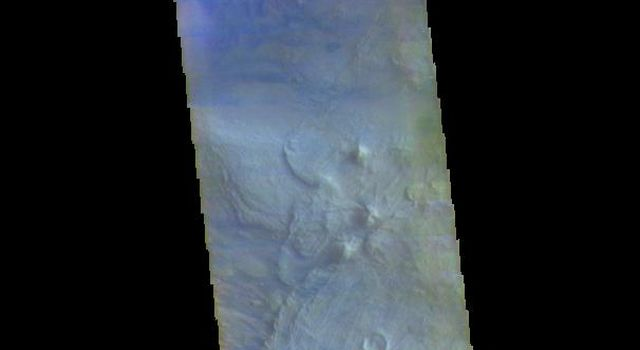 Melas Chasma - False Color