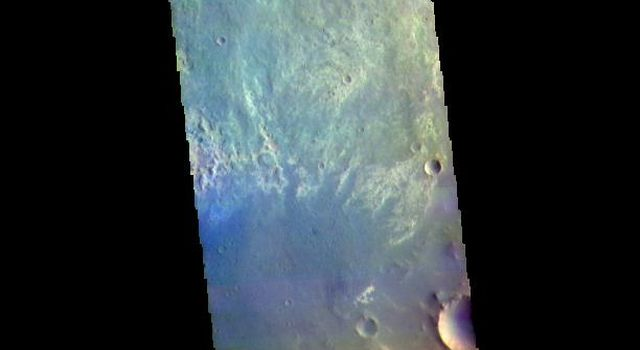 Oyama Crater - False Color