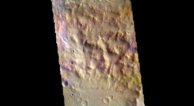McLaughlin Crater - False Color
