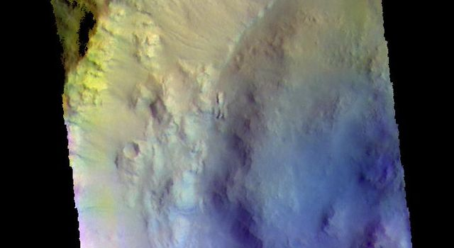 Bonestell Crater - False Color