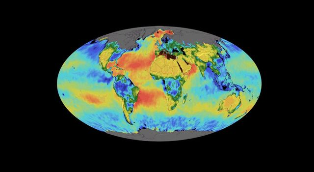 This animation shows a time lapse of sea surface salinity and soil moisture from NASAs Soil Moisture Active Passive (SMAP) satellite from April 2015 through February 2019.