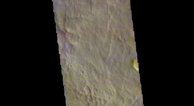 This image from NASAs Mars Odyssey shows part of Arabia Terra.