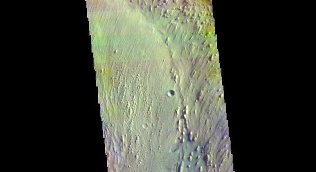 Firsoff Crater - False Color