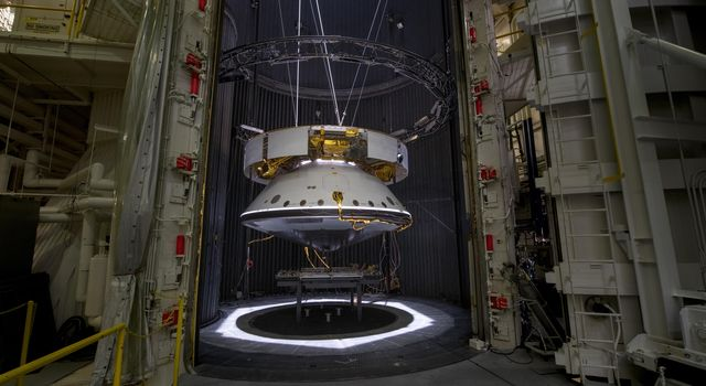 The Mars 2020 Spacecraft Readies for Testing