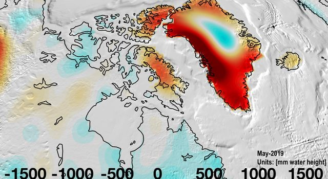 Changes in Mass, Greenland