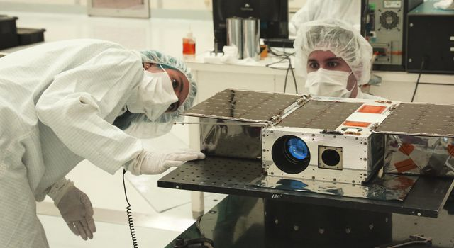 ASTERIA CubeSat Before Launch