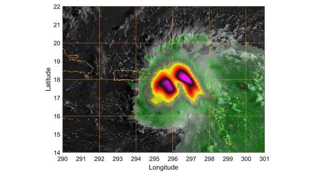 Small Satellite TEMPEST-D Sees Hurricane Dorian off Coast