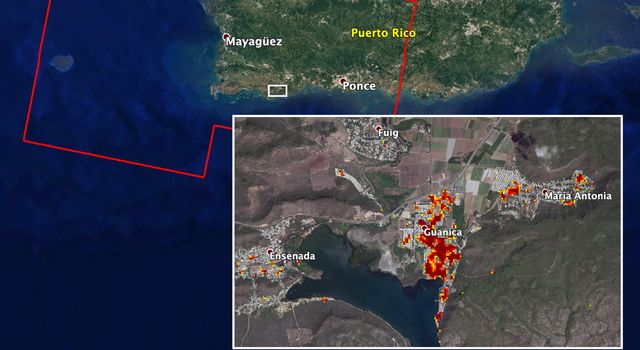 ARIA Maps Damage of Western Puerto Rico After Quakes